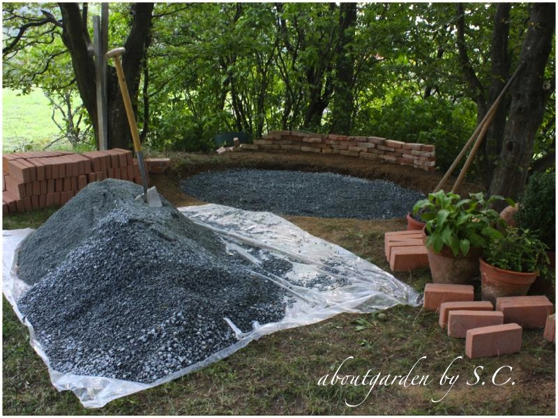Diy piccolo patio aboutgarden for Giardini con ghiaia