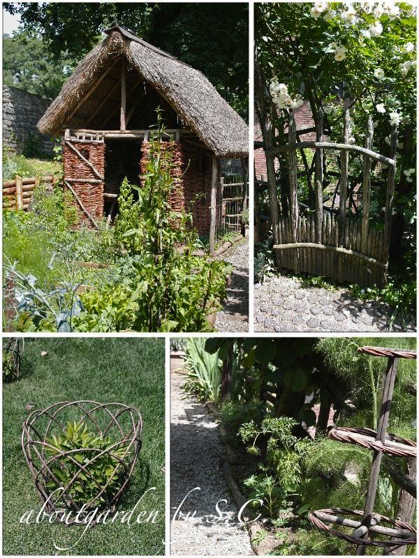 Giardino medievale del borgo aboutgarden for Arredi in legno