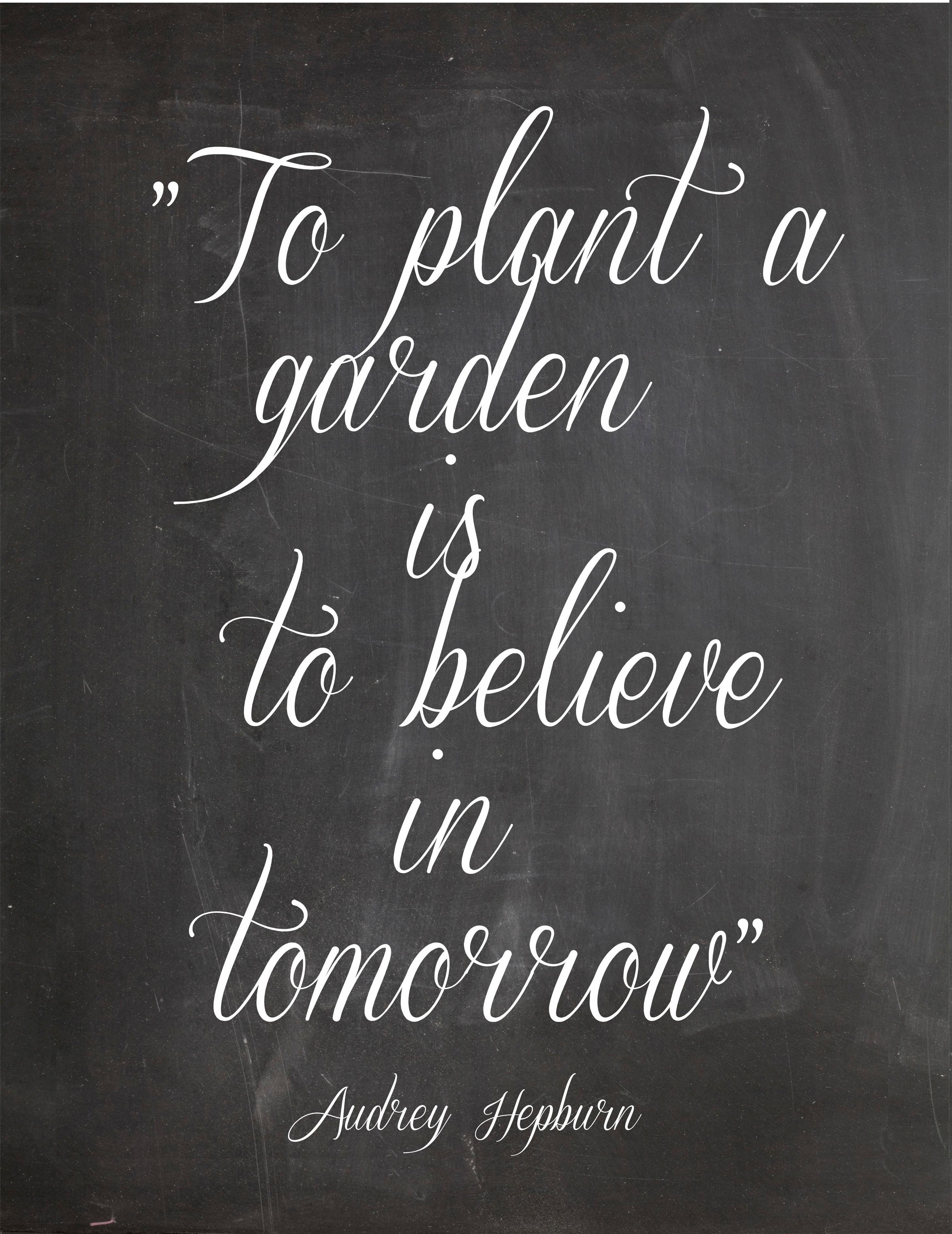 signore del giardino: audrey hepburn | aboutgarden