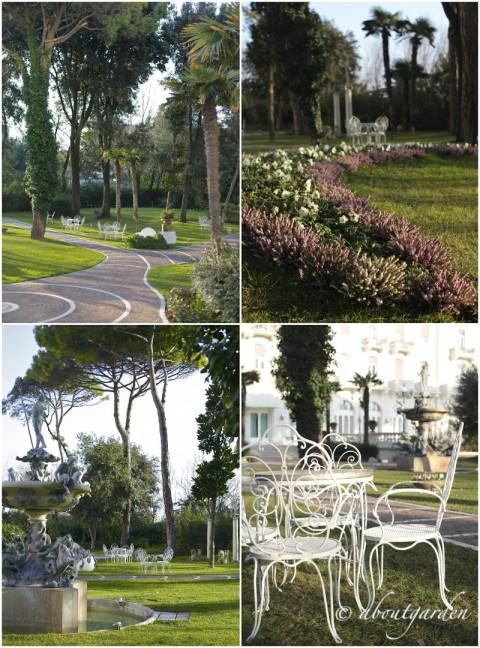 parco scorci Grand Hotel Rimini