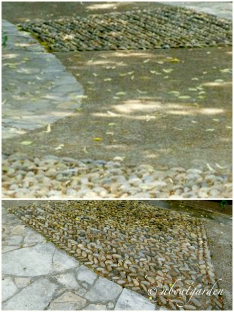 ciotoli di fiume e pietre