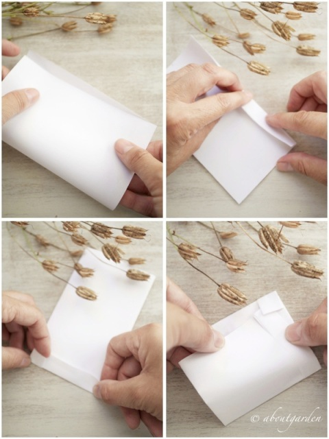 make seeds packet