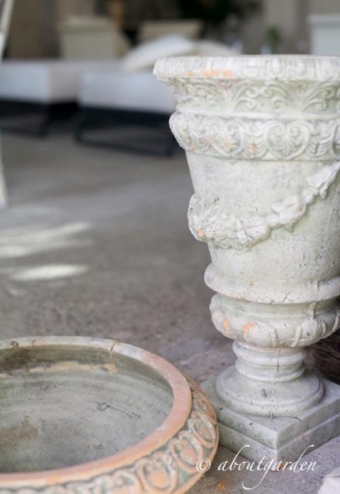 giardino d'inverno vasi