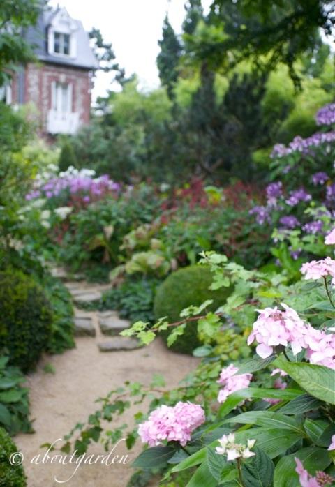 jardin entrèe