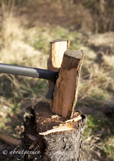 taglio legno 1 fiskars