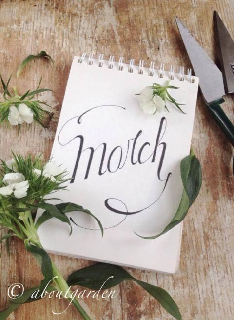 marzo annotazioni creative