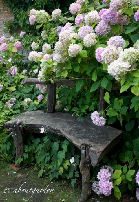 seduta legno JArdin de Miromesnil