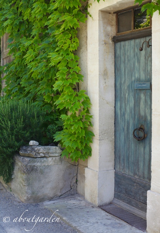 ingresso jardin La Louve