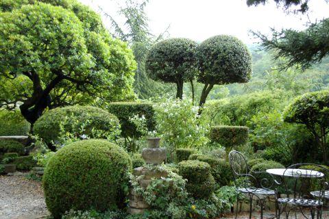 jardin la Louve