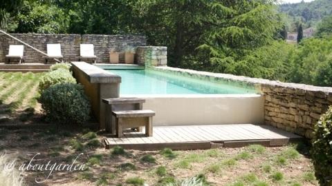 piscina jardin La Louve
