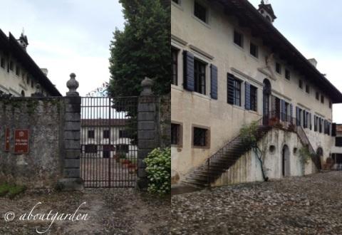 Villa Ottelio-de Carvalho sede fiorirà un giardino