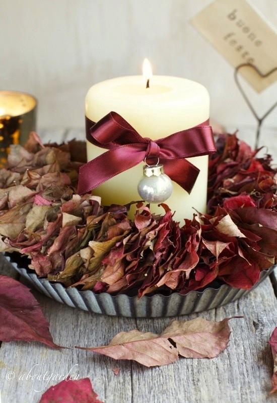 autumn garland leaf