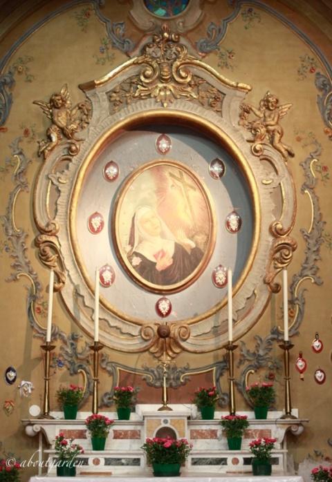 altare Santa Rita