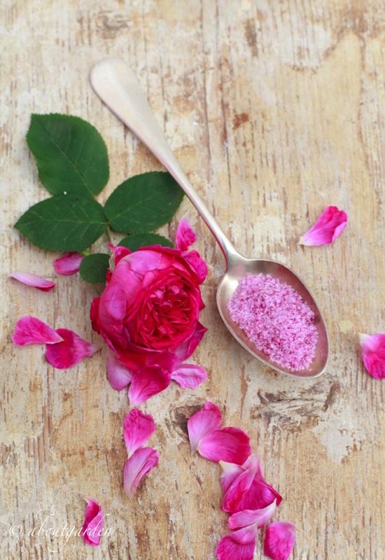 zucchero alla rosa