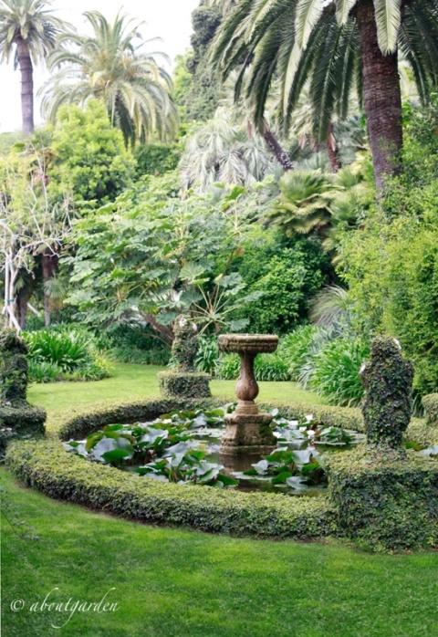 giardino Villa della Pergola