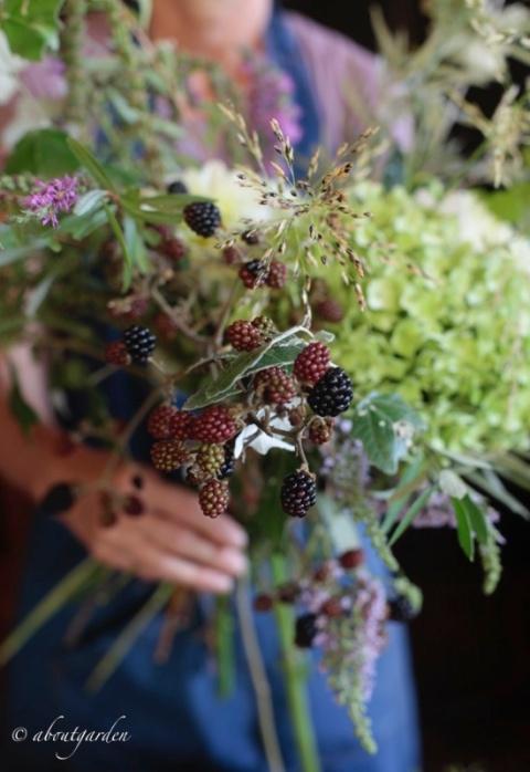 fare mazzi di fiori
