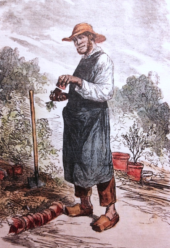 zoccoli del giardiniere