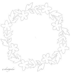 ghirlanda-paper-cut completa marzo