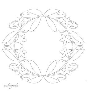 ghirlanda-paper-cut luglio