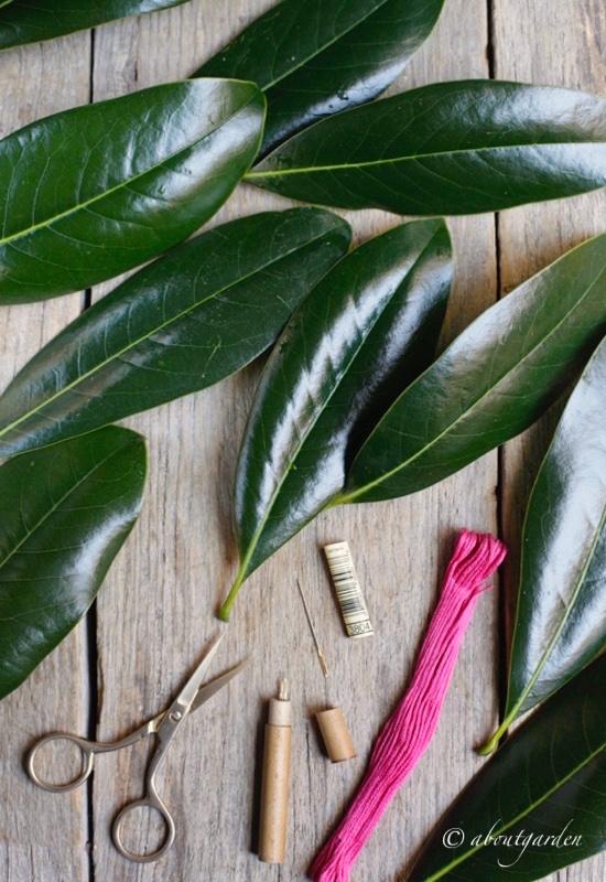 occorrente-buntng-foglie-per-dmc