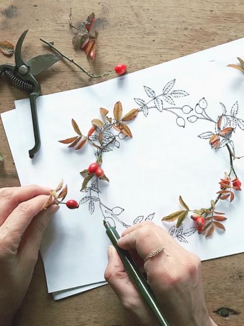 disegno garland