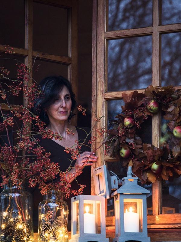 Alla finestra ritratto M. Carassale