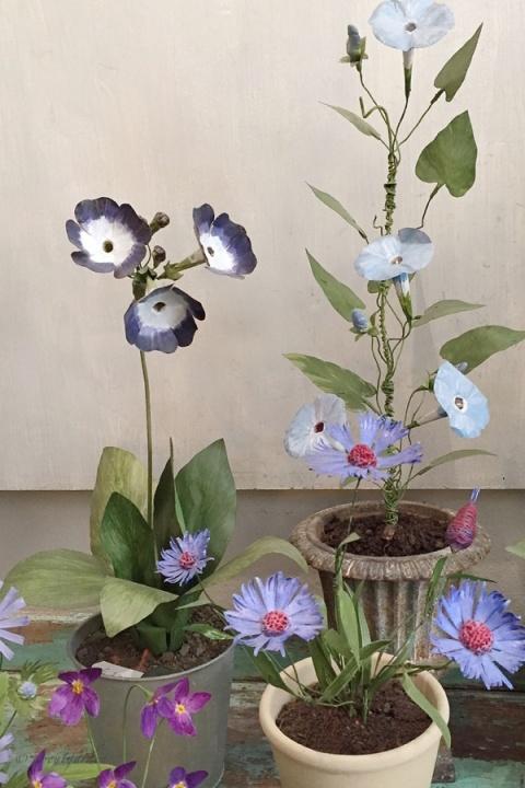 fiori tole peinte